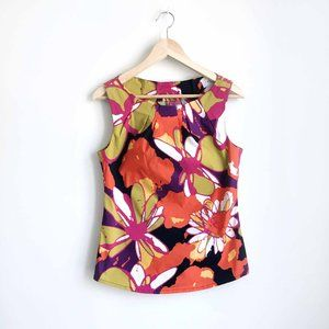 Trina Turk Montauk Tropical sleeveless top - 4